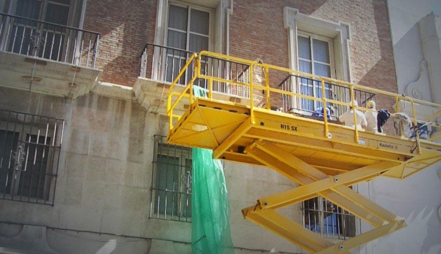 Rehabilitación edificios Málaga