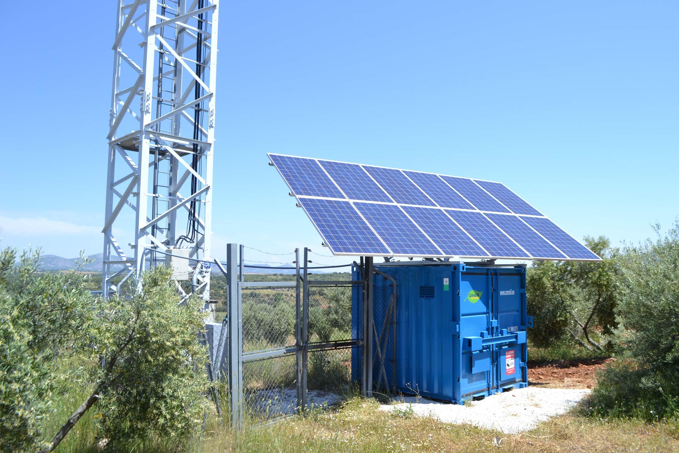 Energía solar fotovoltaica con grupos electrógenos