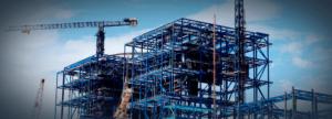 Detalle de construcción residencial