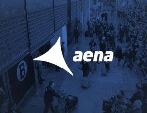 Logotipo Aena