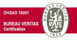 Logotipo Certificación OHSAS 18001