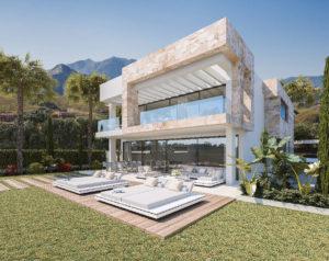 Construcción de vivienda unifamiliar de lujo, villa en Benalmádena