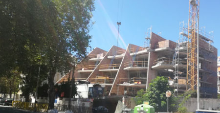 Construcción de viviendas en Andalucía